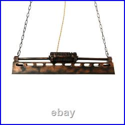 Industrial Iron Pendant Light Kitchen Island Ceiling Lamp Pool Table Chandelier