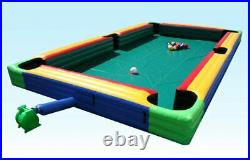 Inflatable Snook ball soccer pool table snookball football include 16 balls