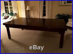 LUXURY CONVERTIBLE DINING POOL TABLE VISION Billiard Desk Fusion NICE 7' 7 ft