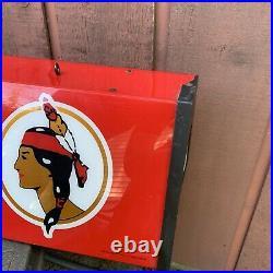 Leinenkugels Beer Dual Indian Maiden Logo Pool Table Light Billiard Sign 50