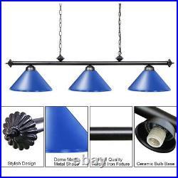 Metal Snooker Billiards Pool Table Light Pendant Ceiling Fixture Lamp Chandelier