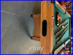 MizeraK Billiard Table with Table Tennis Top Great shape, price negotiable