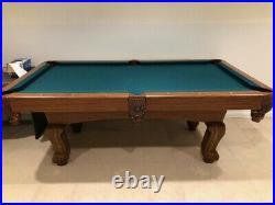 Mizerak Classic Billiard 7.3' Pool Table