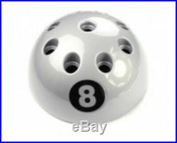 New Giant Circular 8 Ball Cue Rack Stand Snooker Pool Table 9 Cue Various Colour