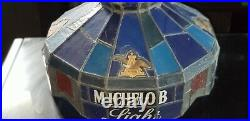 New Vtg 1985 Michelob Light Beer Bud Poker Pool Table Sign Hanging Wow