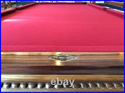 ORIGINAL 9' Peter Vitalie Lord Nelson Pool Table EXCELLENT CONDITION