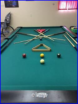 Olhausen pool table 10 ft long