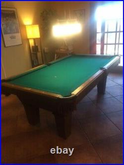 Olhausen pool table (4' X 7' 3)