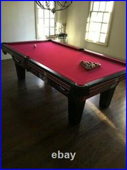 Olhausen pool table signature series 8ft