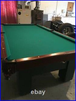 Original Brunswick pool table