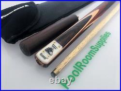 POWERGLIDE Tournament Viscount Pool Snooker Billiard Cue + Case + Extension