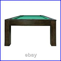Penelope Pool Table With Dining Top 7 Foot or 8 Foot Penelope Billiard Table