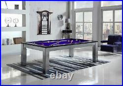 Playcraft Monaco 8' Slate Pool Table with Dining Top