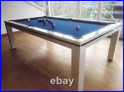 Pool Billiards Mozart 7 FT Pool Table Dining And Billiardtisch Slate Slab