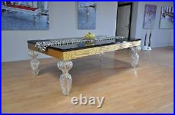 Pool & Dining, Convertible Billiards Table