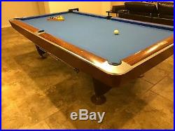 Pool Table Brunswick Cherry Wood