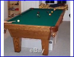 Pool Table full size 8ft, disassembled
