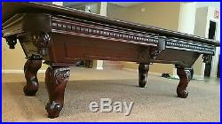 Presidential Billiards pool table with dining top and accessories