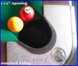 Pro Pocket Rails Covered (simonis 860) For Valley Pool Table Diamond