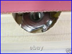 Replacement Pool Table Rails for 7' Valley, covered