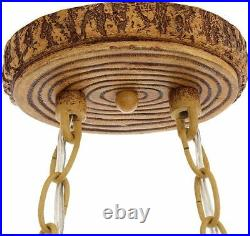 Rustic Antler Kitchen Island Light Fixture Sunset Glass Shades Cabin Pool Table