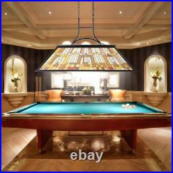 Rustic Light Pool Table Chandelier Billiard Pendant Ceiling Light Fixture Lamp #