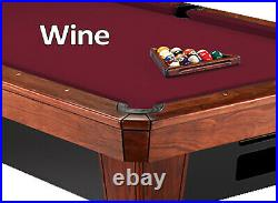 Simonis 860 Pool Table Cloth Felt Wine 7