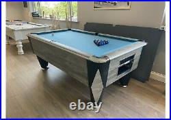 Special Aramith Black And Blue Pool Balls + Silver 8 Ball Home Pool Tables