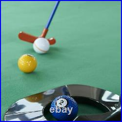 The Billiards Pool & Mini Golf Crossover Combo Game THE PUTTING POOL GAME