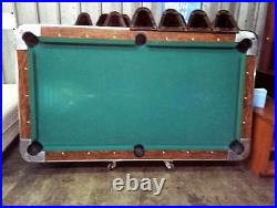 Valley Coin Operated Pool Table Multiple Units Are Available