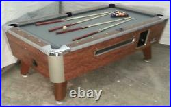 Valley Commercial 7' Coin-op Bar Size Pool Table Model Zd-5 Refurb In Grey Cloth