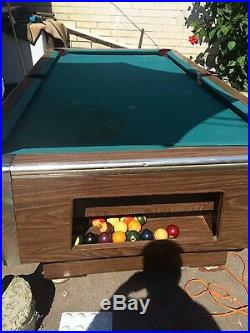 Vintage Bar Pool Table