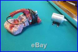 Vintage Brunswick Gold Crown 9' Pool Table Mahogany Automatic Return