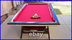 Vintage Brunswick Mach 1 Pool Table