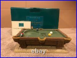 WDCC Pinocchio Pool Table Base + Box & COA